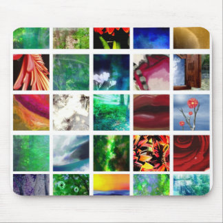 Blocks of Color Mouse Pad