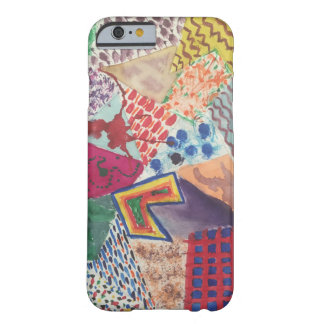 Blocks of Painted Patterns iPhone Case