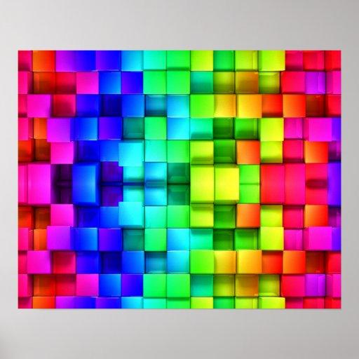 colored blocks wallpaper trololo - photo #3