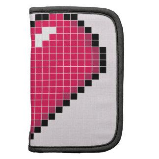 Blocky Pink Heart Planner