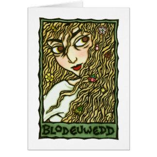 Blodeuwedd Card