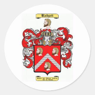 Blodgett Classic Round Sticker