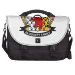 Blodgett Family Crest Laptop Commuter Bag