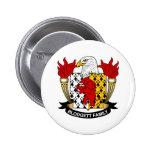 Blodgett Family Crest Pinback Buttons
