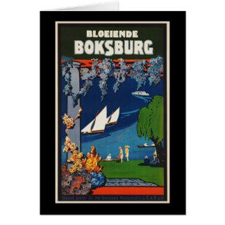 Bloeiende Boksburg Card