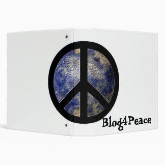 Blog4Peace 3-Ring Binder Notebook