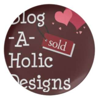 Blog-A-Holic Designs Plate