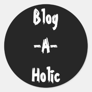 Blog-A-Holic Sticker