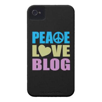 Blog del amor de la paz iPhone 4 protectores