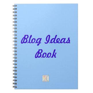 Blog ideas notebook