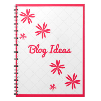 Blog Ideas Notebook (80 Pages B&W)