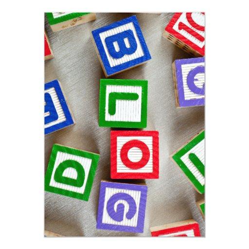 """Blog Invitación 5"""" X 7"""""""