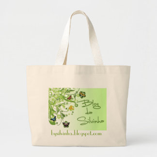 Blog of the Silvinha Large Tote Bag