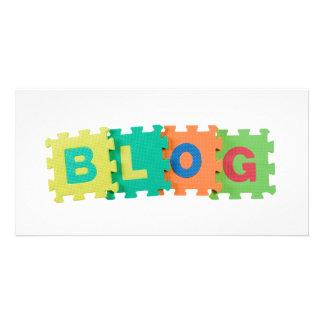 Blog Customized Photo Card