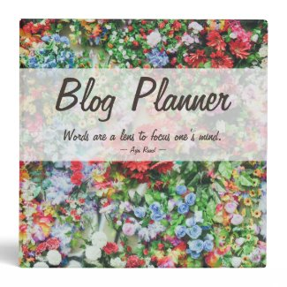 Blog Planner Binder