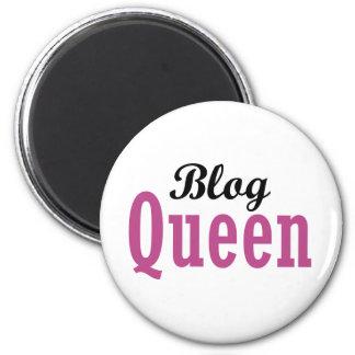 Blog Queen 2 Inch Round Magnet