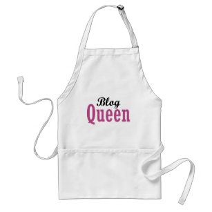 Blog Queen Adult Apron
