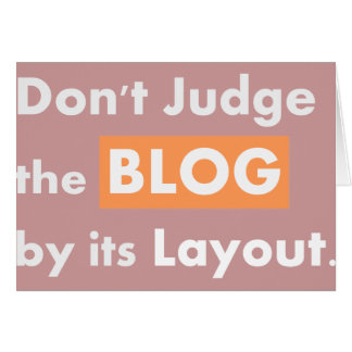 Blog quotes Don't Judge Card
