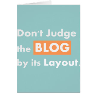 Blog quotes Don't Judge Cards
