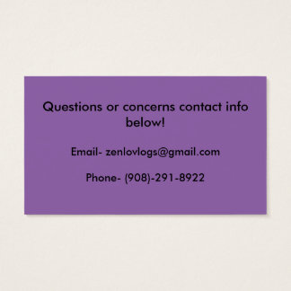 blog stickers business card
