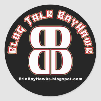 Blog Talk BayHawk Stickers