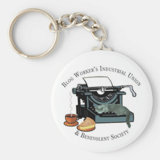 Blog Workers Industrial Union Key Chain