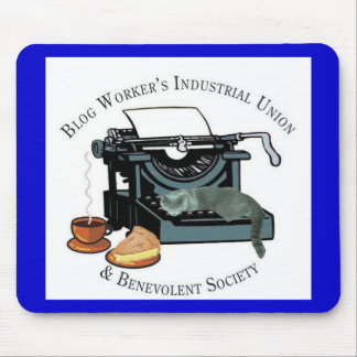 Blog Workers Industrial Union Mousepads