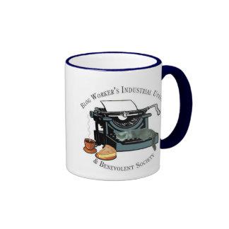 Blog Workers Industrial Union Ringer Mug