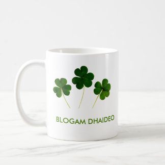 Blogam Dhaideo - Grandad's Cuppa in Irish Gaelic Classic White Coffee Mug