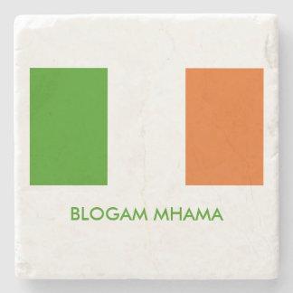 Blogam Mhama: Irish Mam's Cuppa Shamrock Stone Beverage Coaster