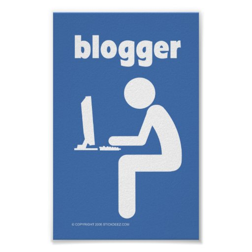 Blogger-color Poster