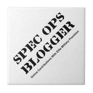 Blogger de espec. Ops Azulejo Cuadrado Pequeño