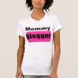 Blogger de la mamá camisetas