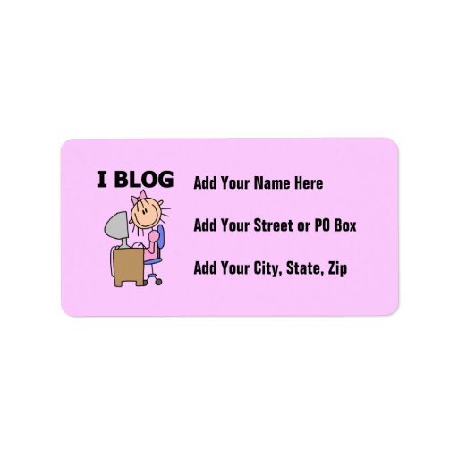 Blogger del chica etiquetas de dirección