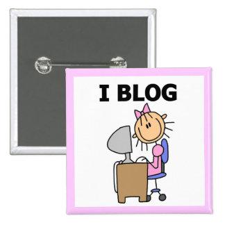 Blogger del chica