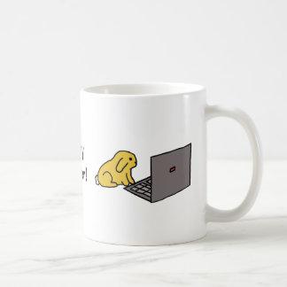 ¡Blogger del conejito! taza del |