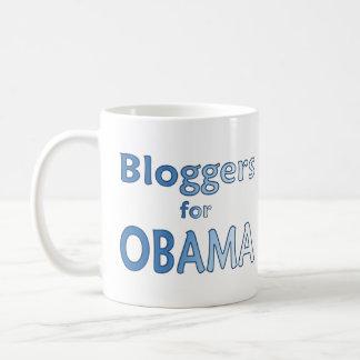 Blogger for Obama Classic White Coffee Mug