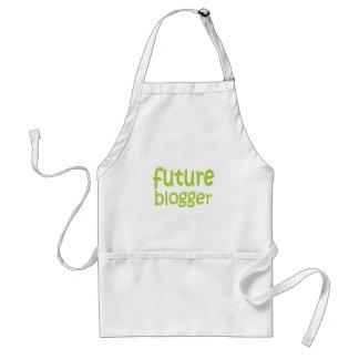 blogger futuro delantal