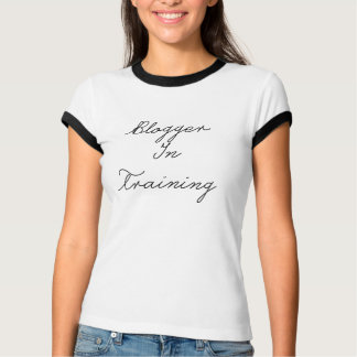 Blogger In Training Ring Tee