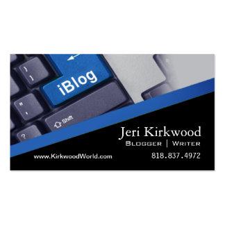 Blogger Journalist News Writer WordPress Blog Business Card