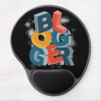 Blogger Letters Blocks Gel Mouse Pad