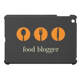 Blogger moderno de la comida de cuchara del cuchil