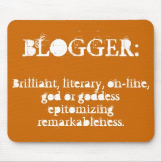 Blogger Mousepad (calabaza) Tapetes De Raton