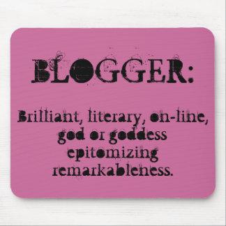 Blogger Mousepad (frambuesa)