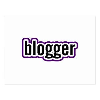 Blogger Postcard