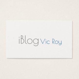 Blogger, Social Media, Follow Me Business Card