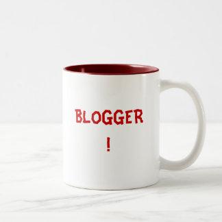BLOGGER! Two-Tone COFFEE MUG