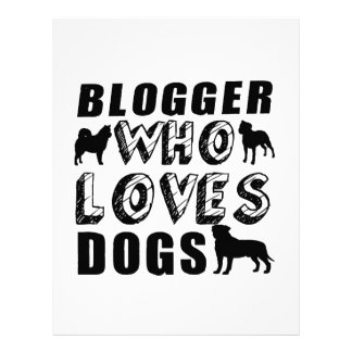 blogger Who Loves Dogs Letterhead