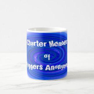 Bloggers Anonymous! Classic White Coffee Mug