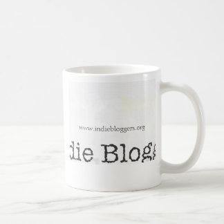 Bloggers del indie… taza básica blanca